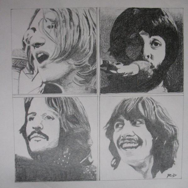 The Beatles by Rdavis63